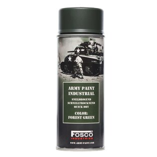 Barva ARMY ve spreji 400 ml FOSCO® - Forest Green